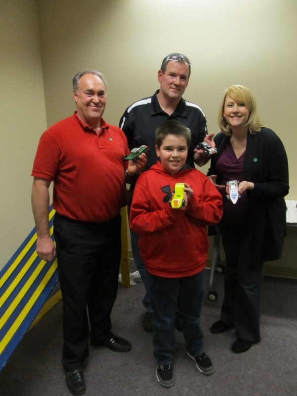 pinewood derby top four