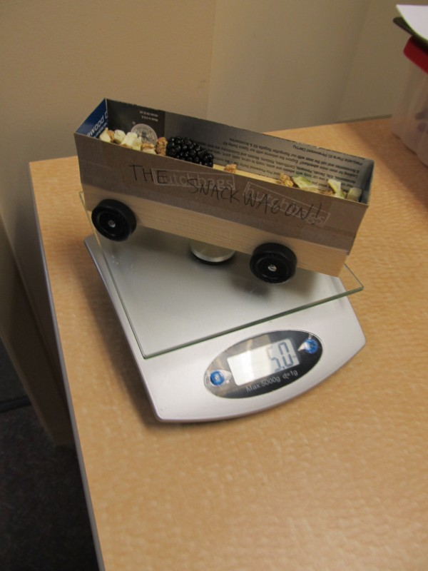 pinewood derby snack wagon