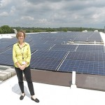 Up On The Roof: New Solar Panels Ensure a Bright Future