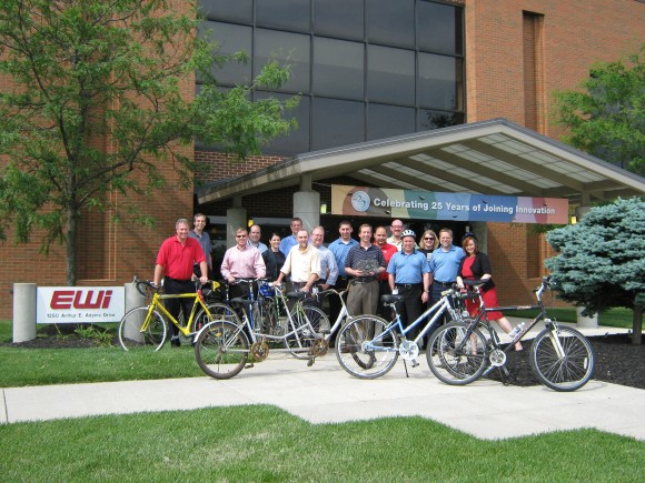 EWI's Bike-to-Work Team