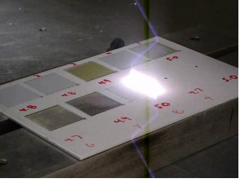 Q-Switched Fiber Laser Paint Removal