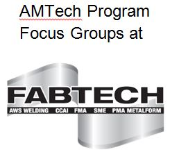 Fabtech focus groups 2014