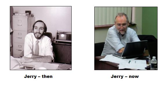 Jerry then and now