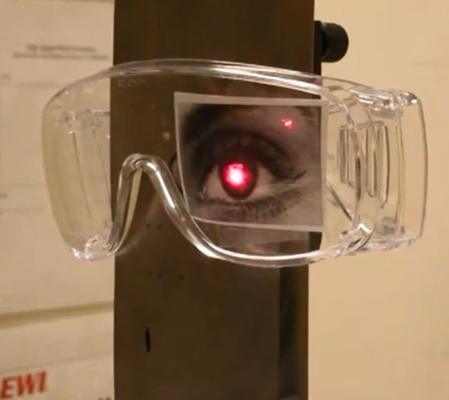 Parade Of Lasers 2015: Laser Intrabeam And Diffuse Reflection