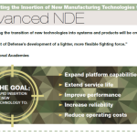Rapid Insertion of New Technologies through Advanced NDE