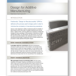 New EWI Article: Design for Additive Manufacturing