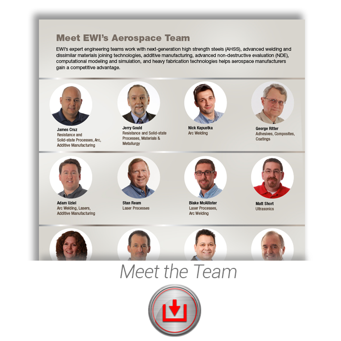 Aerospace: Meet the Team