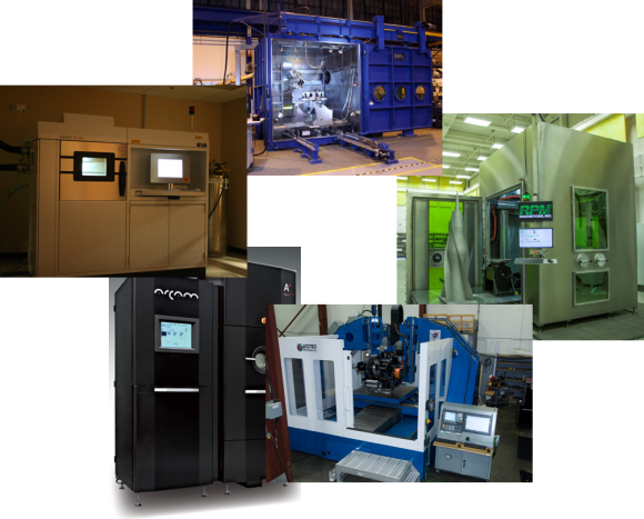additive manufacturing machines at EWI