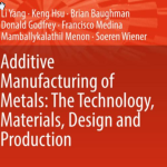 Medina is Co-author of New Book on Metals Additive Manufacturing