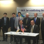 South Korean Delegation Visits EWI, Signs Collaboration Agreement