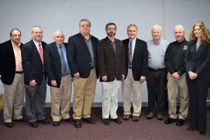 Members of the Buchanan County IDA, the VCEDA, and the EWI team after the grant closing on January 18th.