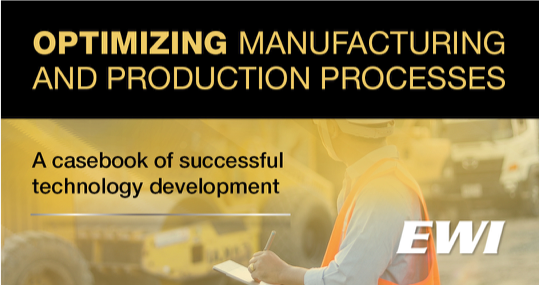 Optimizing Manufacturing